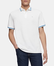 Calvin Klein Men'sTipped Polo
