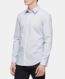 Calvin Klein Men's Geo Print Slim Fit Shirt