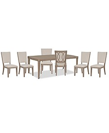 Venue Dining 7-Pc. Set (Table & 6 Side Chairs)
