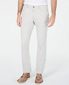 Men's Skinny-Fit Sateen Pants