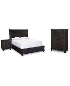 Philip Bedroom Furniture, 3-Pc. (Queen Bed, Nightstand & Chest), Created for Macy's