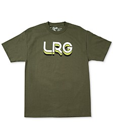 LRG Men's Levels Cotton Graphic T-Shirt