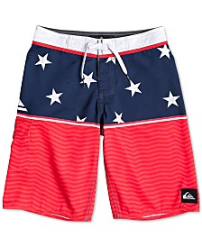Quiksilver Toddler Boys Stars & Stripes Swim Trunks