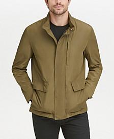 Men's Snap-Front Packable Jacket