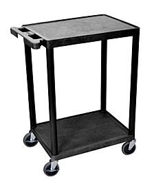 Offex 2 Shelf Cart