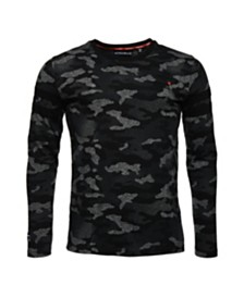 Superdry Orange Label Urban Camo Long Sleeve T-Shirt