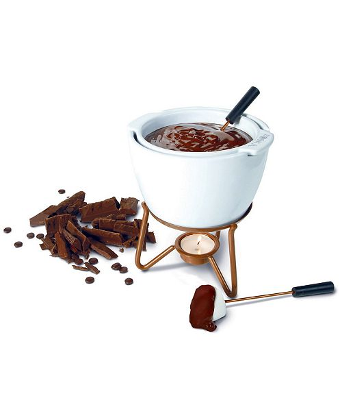 Boska Choco Fondue Marie Double Boiler Chocolate Fondue