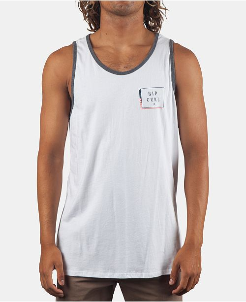Rip Curl Men's Liberty Ringer Tank Top
