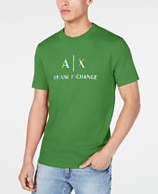 A X Armani Exchange Men's Pride ROY G. BIV Logo T-Shirt Created For Macy's