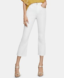 BCBGMAXAZRIA Cropped Bootcut Jeans