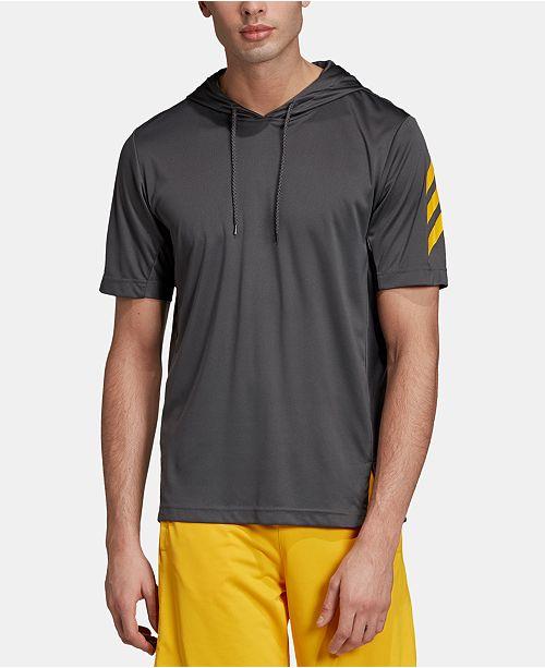 adidas hoodie logo on arm sleeve