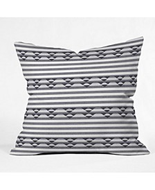 Holli Zollinger Linen Stripe Throw Pillow