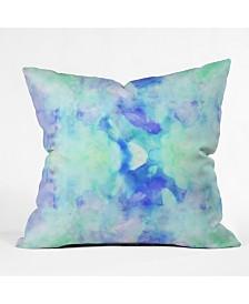 Cayenablanca Water Clouds Throw Pillow