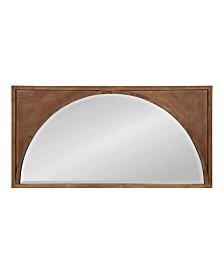 Kate and Laurel andover Wooden Wall Panel Arch Mirror