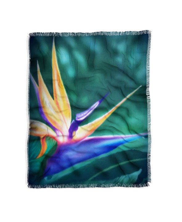 Deny Designs Deb Haugen Lanikai Lady Woven Throw & Reviews ...