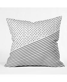 Allyson Johnson Opposites Attract Throw Pillow
