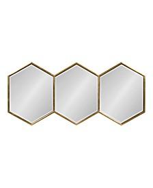Royce Horizontal Hexagon Mirror