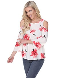 Women's Lorain Cold Shoulder Top