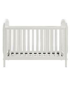 Baby Relax Alena Convertible Crib and Guard Rail