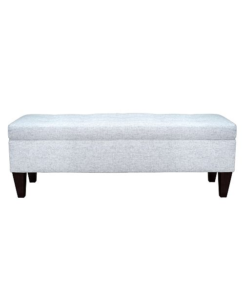 Cool Brooke Button Tufted Upholstered Storage Ottoman Bench Andrewgaddart Wooden Chair Designs For Living Room Andrewgaddartcom