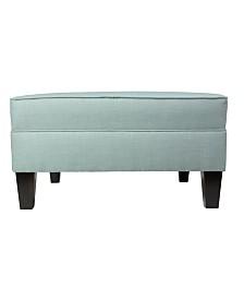 MJL Furniture Designs Madison Squared Upholstered Oversized Ottoman
