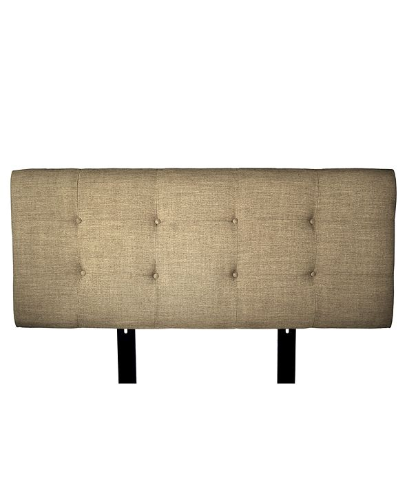 MJL Furniture Designs Ali Button Tufted Upholstered California King Headboard