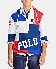 Polo Ralph Lauren Men's Chariots Custom-Fit Hooded Popover