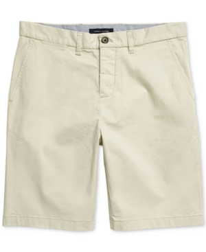 """Tommy Hilfiger Men's 10"""" Classic-Fit Stretch Adaptive Chino Shorts"""