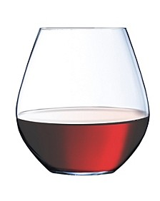 Domaine Stemless Red Wine Glass - Set of 6