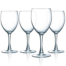 Atlas All Purpose Wine Goblet - Set of 4