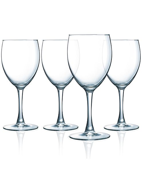 Luminarc Atlas All Purpose Wine Goblet - Set of 4
