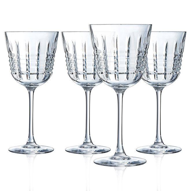 Cristal d'Arques Cristal D' Arques Rendez-vous Wine Glass - Set of 4