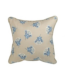Croscill Emery 16x16 Fashion Pillow Decorative Pillow