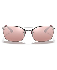 Ray-Ban Polarized Sunglasses, RB3617M 63