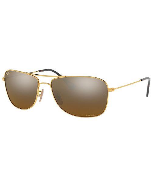 Ray-Ban Polarized Sunglasses, RB3543 59