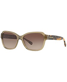 COACH Sunglasses, HC8232 56 L1010