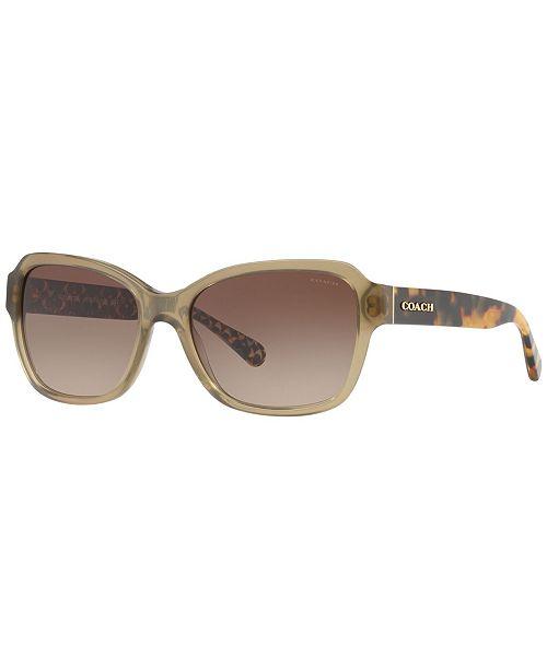COACH Sunglasses, HC8232 56 L1010