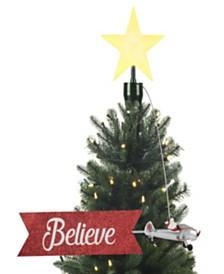 Mr. Christmas Animated Santa in Plane Tree Topper