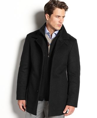 BOSS HUGO BOSS Coxtan Wool-Cashmere Coat - Coats & Jackets - Men ...