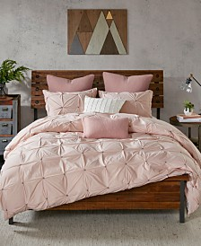 INK+IVY Masie 3-Pc. King/Cal King Cotton Duvet Cover Mini Set