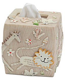 Creative Bath Accessories, Animal Crackers Tissue Holder