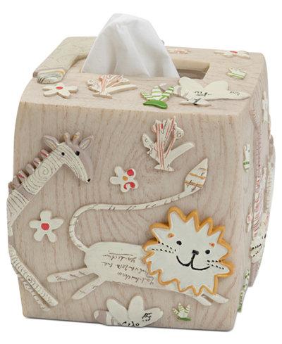 Creative Bath Accessories, Animal Crackers Tissue Holder