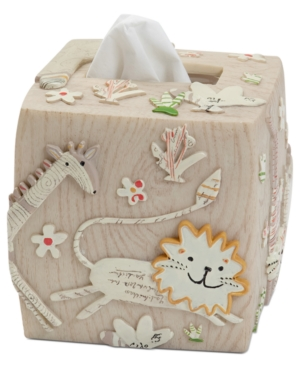 Creative Bath Accessories, Animal Crackers Tissue Holder Bedding