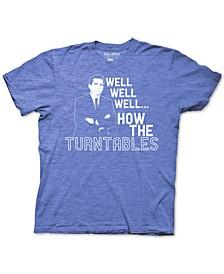 The Office Michael Scott Turntables Men's Graphic T-Shirt