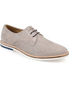 Men's Garrison Perforated Plain Toe Derby