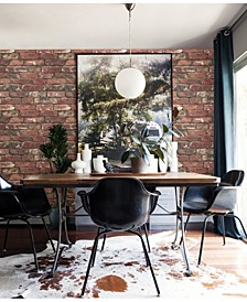 "Loft Brick Wallpaper - 396"" x 20.5"" x 0.025"""