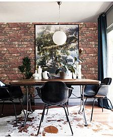 """Brewster Home Fashions Loft Brick Wallpaper - 396"""" x 20.5"""" x 0.025"""""""