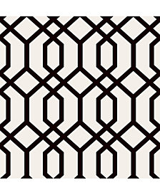 "Brewster Home Fashions Trellis Montauk Wallpaper - 396"" x 20.5"" x 0.025"""