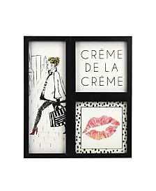 Brewster Home Fashions Parisian Chic Gallery Wall Art