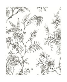"Jessamine Floral Trail Wallpaper - 396"" x 20.5"" x 0.025"""